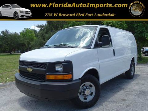 Pre-Owned 2010 Chevrolet Express Cargo Van