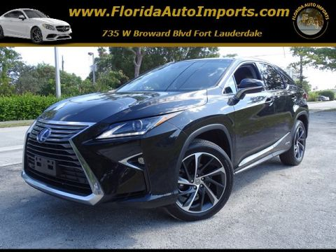 Pre-Owned 2017 Lexus RX RX 450h AWD