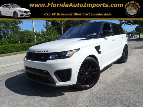 Pre-Owned 2017 Land Rover Range Rover Sport SVR 4WD