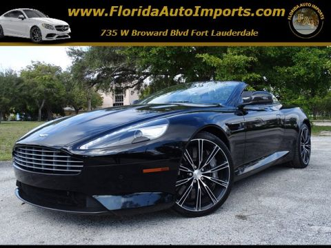 Pre-Owned 2015 Aston Martin DB9  RWD Convertible