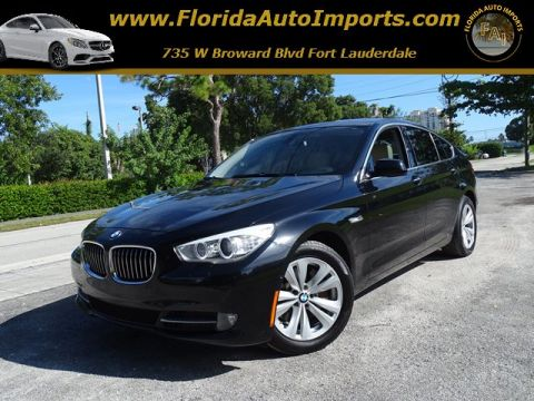 Pre-Owned 2011 BMW 5 Series Gran Turismo 535i RWD Station Wagon
