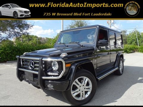 Pre-Owned 2015 Mercedes-Benz G-Class G 550 AWD