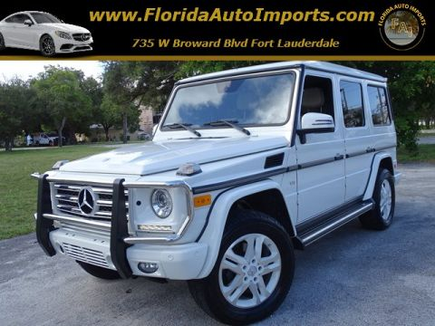 Pre-Owned 2013 Mercedes-Benz G-Class G 550 AWD