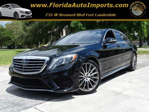Pre-Owned 2014 Mercedes-Benz S-Class S 63 AMG® AWD