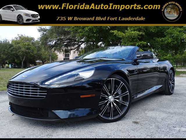 pre-owned 2015 aston martin db9 convertible in fort lauderdale