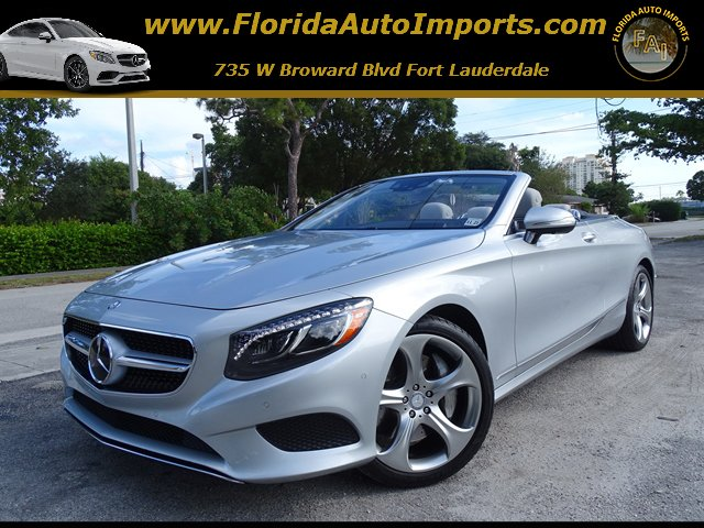 Pre Owned 2017 Mercedes Benz S Cl 550