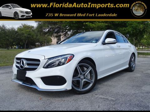 Pre-Owned 2016 Mercedes-Benz C-Class C 300 Sport AWD