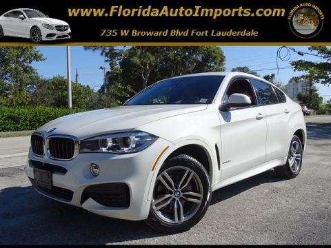 Pre-Owned 2015 BMW X6 xDrive35i With Navigation & AWD