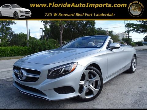 Pre-Owned 2017 Mercedes-Benz S-Class S 550 RWD Convertible